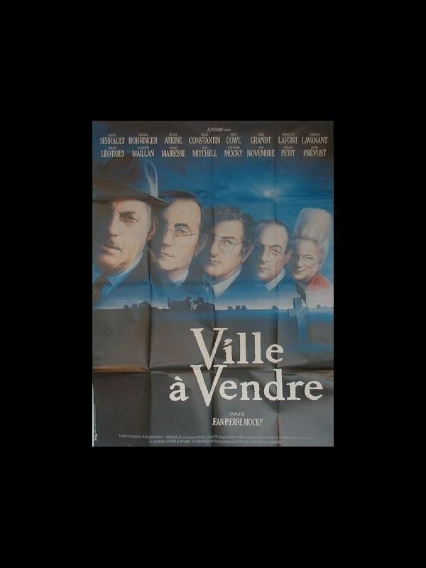 Affiche du film VILLE A VENDRE