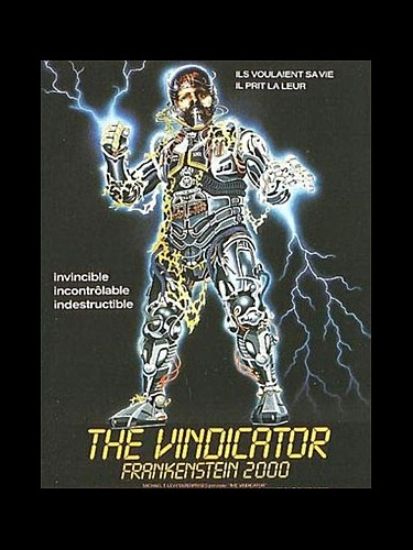 Affiche du film VINDICATOR (THE)-FRANKENSTEIN 2000