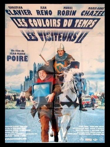 Affiche du film VISITEURS 2 (LES) -LES COULOIRS DU TEMPS-