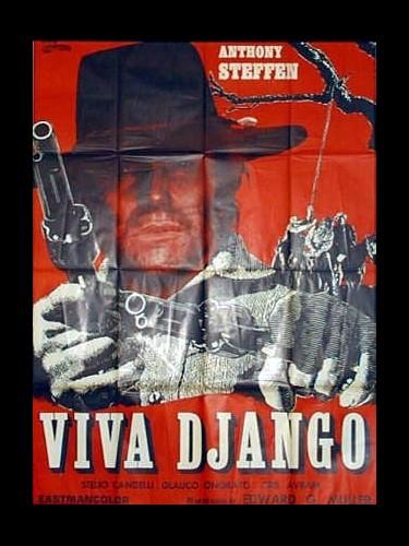 Affiche du film VIVA DJANGO