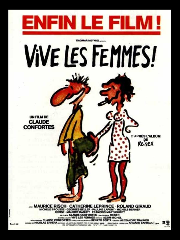 Affiche du film VIVE LES FEMMES
