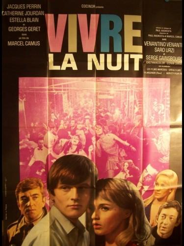 Affiche du film VIVRE LA NUIT