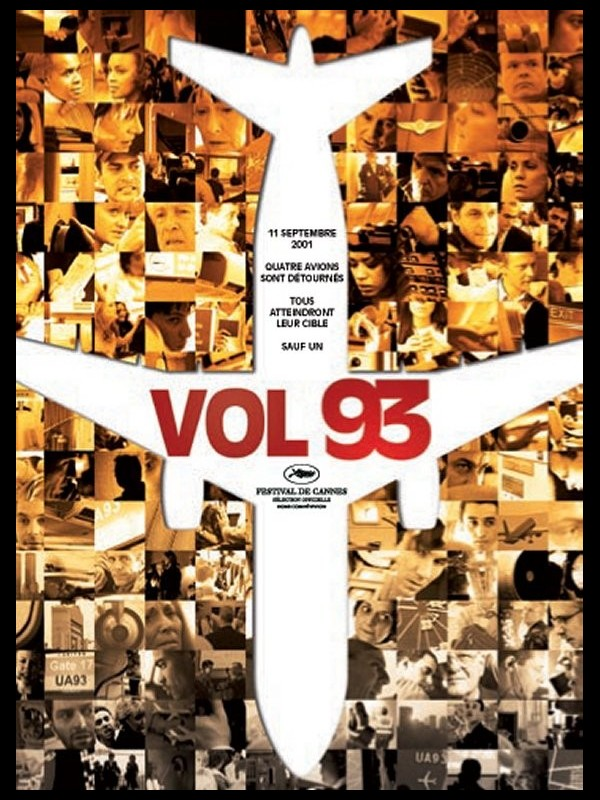 Affiche du film VOL 93 - UNITED 93