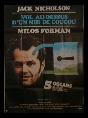 Affiche du film VOL AU DESSUS D'UN NID DE COUCOU0 - ONE FLEW OVER THE CUCKOO'S NEST