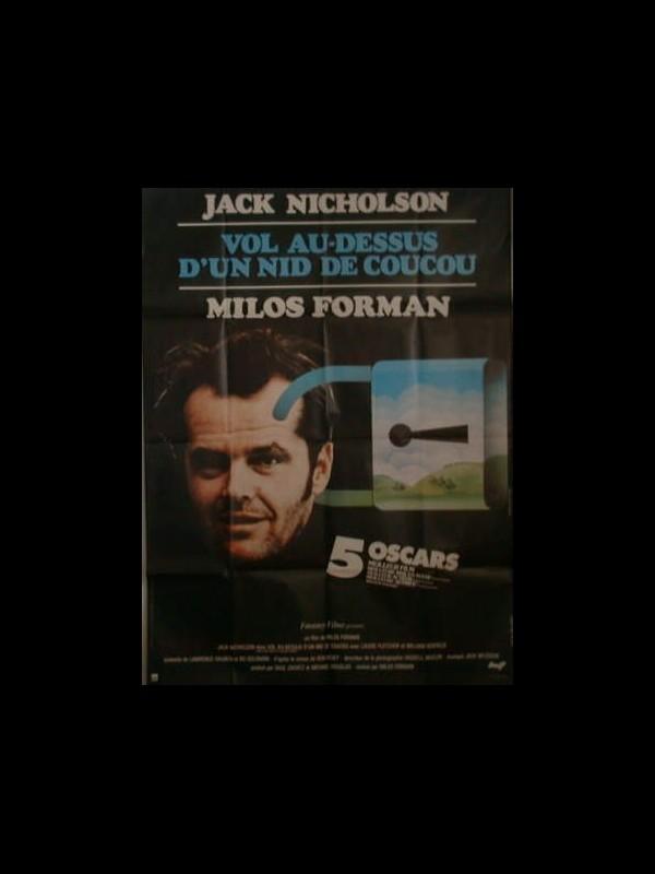 Affiche du film VOL AU DESSUS D'UN NID DE COUCOU0 - ONE FLEW OVER THE CUCKOO'S NEST