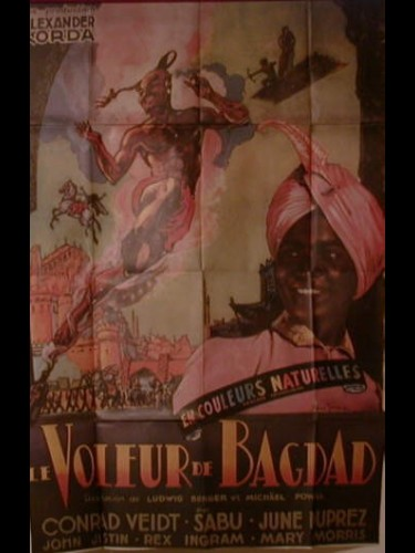 Affiche du film VOLEUR DE BAGDAD (LE) - THE THIEF OF BAGDAD