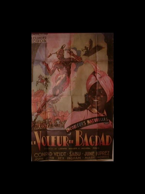 Affiche du film VOLEUR DE BAGDAD (LE) - THE THIEF OF BAGDAD