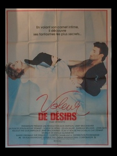 Affiche du film VOLEUR DE DESIRS - THIEF OF HEARTS