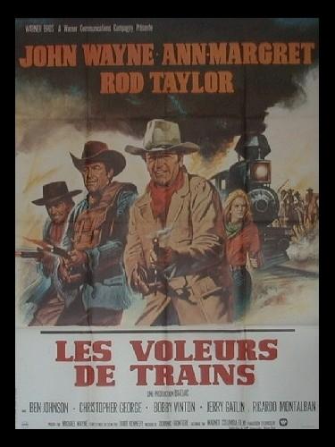 Affiche du film VOLEURS DE TRAIN (LES) - THE TRAIN ROBBERS