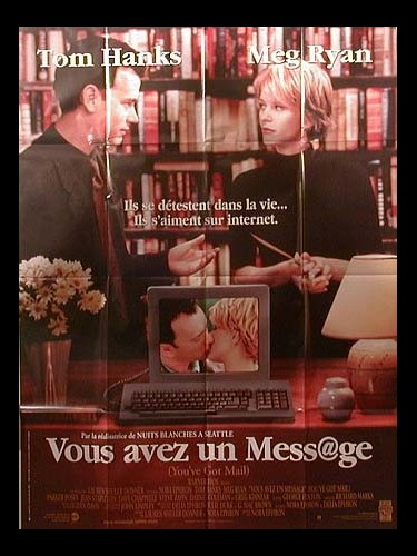 Affiche du film VOUS AVEZ UN MESSAGE - YOU'VE GOT MAIL