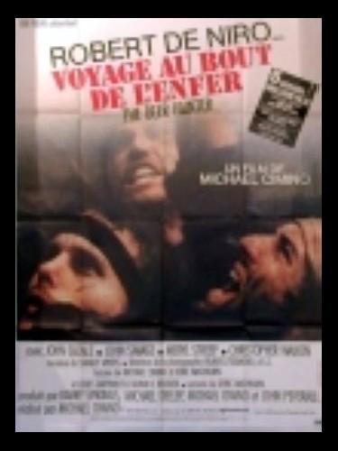 Affiche du film VOYAGE AU BOUT DE L'ENFER - THE DEER HUNTER