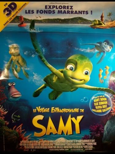 Affiche du film VOYAGE EXTRAORDINAIRE DE SAMY (LE) - SAMMY'S AVONTUREN: DE GEHEIME DOORGANG