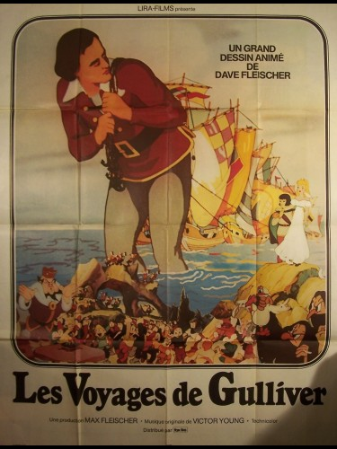 Affiche du film VOYAGES DE GULLIVER (LES)