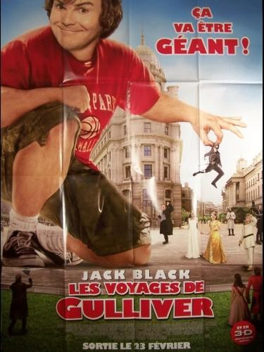Affiche du film VOYAGES DE GULLIVER (LES) - GULLIVER'S TRAVELS