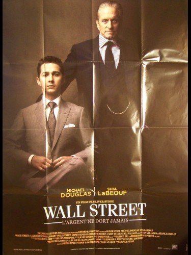 Affiche du film WALL STREET : L'ARGENT NE DORT JAMAIS - Titre original : WALL STREET: MONEY NEVER SLEEPS