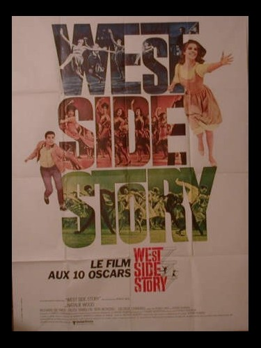 Affiche du film WEST SIDE STORY - WEST SIDE STORY