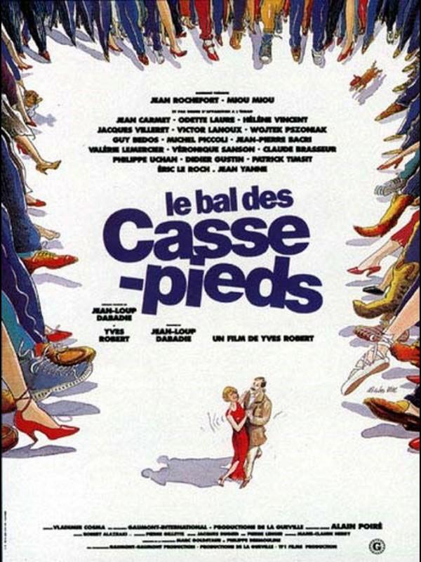 Affiche du film BAL DES CASSE-PIEDS (LE)