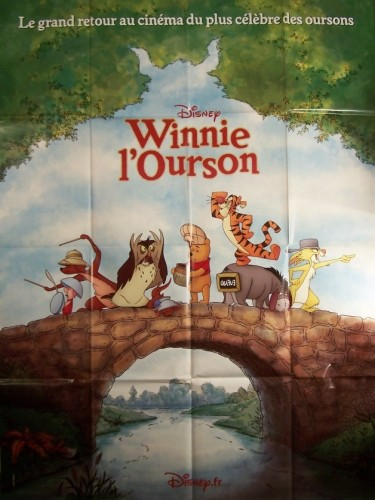 Affiche du film WINNIE L'OURSON (LE GRAND RETOUR)