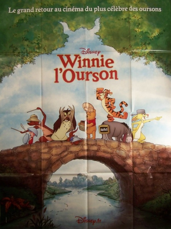 Affiche du film WINNIE L'OURSON (LE GRAND RETOUR)