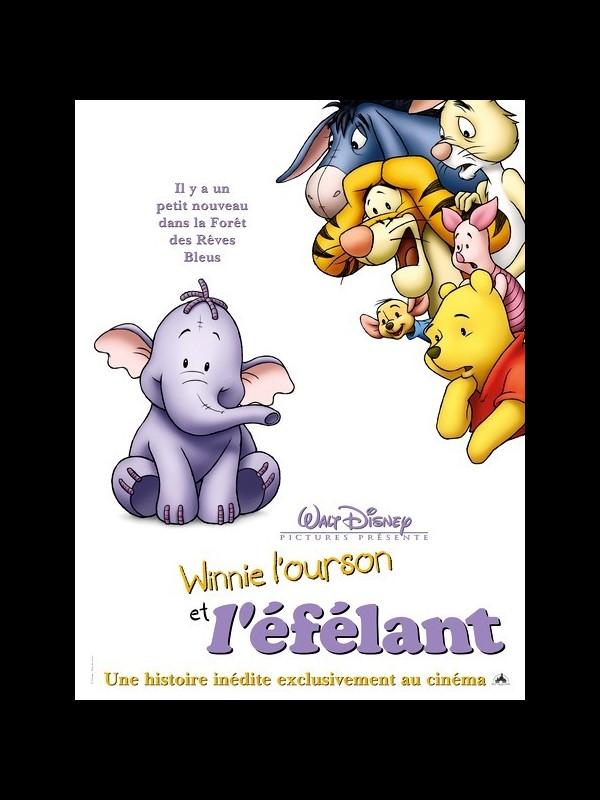 Affiche du film WINNIE L'OURSON ET L'ELEFANT - POOH'S HEFFALUMP MOVIE