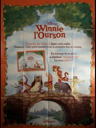 Affiche du film WINNIE L'OURSON-PREMIERE PLACE-