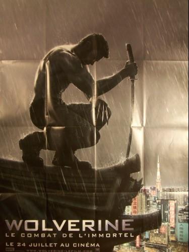 Affiche du film WOLVERINE-LE COMBAT DE L'IMMORTEL