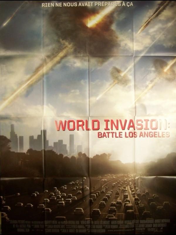 Affiche du film WORLD INVASION- BATTLE LOS ANGELES-