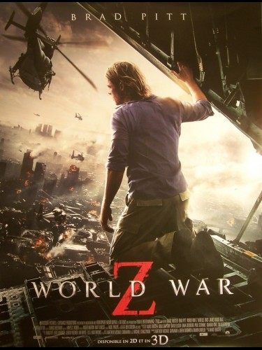 WORLD WAR Z (AFFICHE ROULÉE)