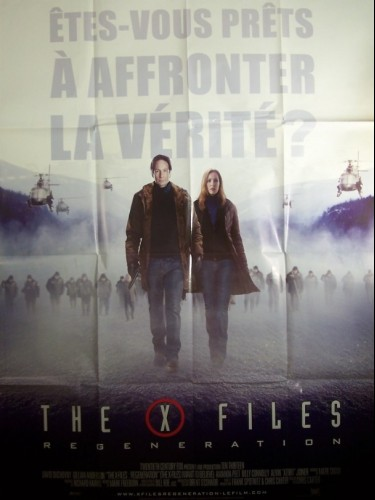 Affiche du film X-FILES : REGENERATION - THE X FILES: I WANT TO BELIEVE