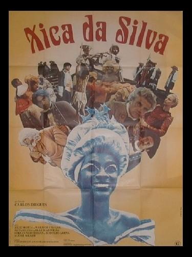 Affiche du film XICA DA SILVA