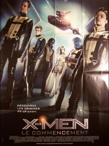 Affiche du film X-MEN -LE COMMENCEMENT - X-MEN -FIRST CLASS