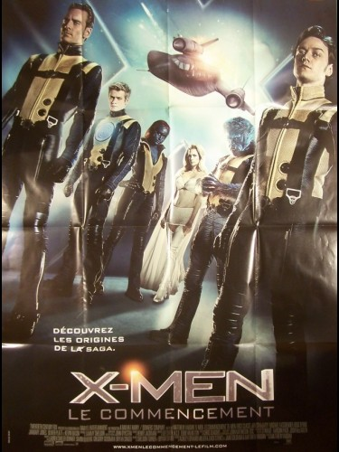 Affiche du film X-MEN -LE COMMENCEMENT- - X-MEN: FIRST CLASS