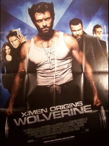 Affiche du film X-MEN ORIGINES : WOLVERINE