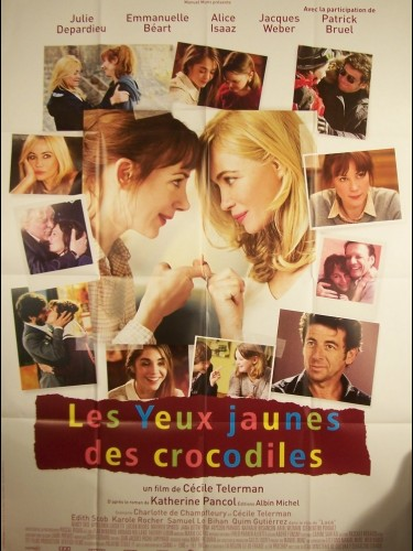 Affiche du film YEUX JAUNES DES CROCODILES (LES)