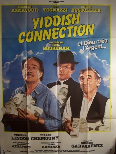 Affiche du film YIDDISH CONNECTION