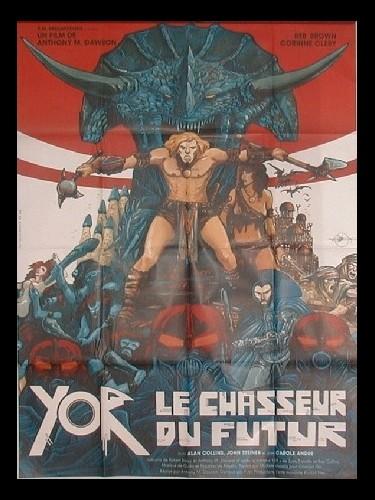 Affiche du film YOR LE CHASSEUR DU FUTUR