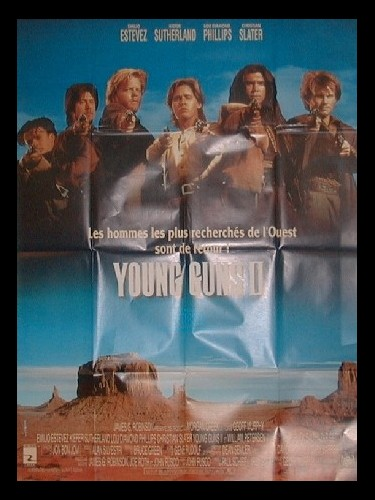 Affiche du film YOUNG GUNS 2