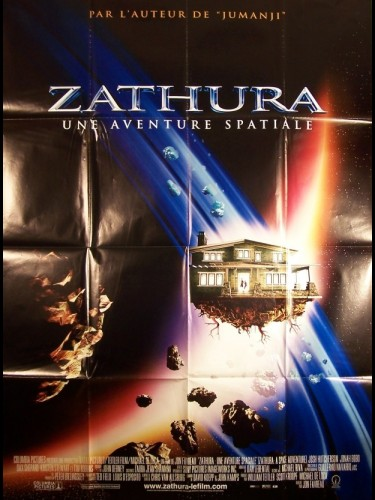Affiche du film ZATHURA-UNE AVENTURE SPATIALE- - ZATHURA: A SPACE ADVENTURE