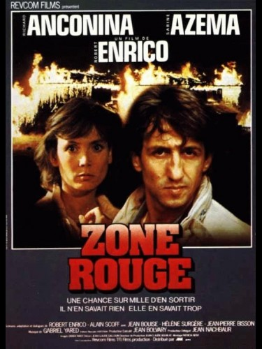 Affiche du film ZONE ROUGE