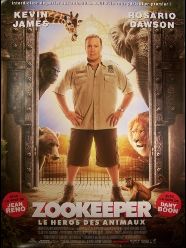 Affiche du film ZOO KEEPER-B