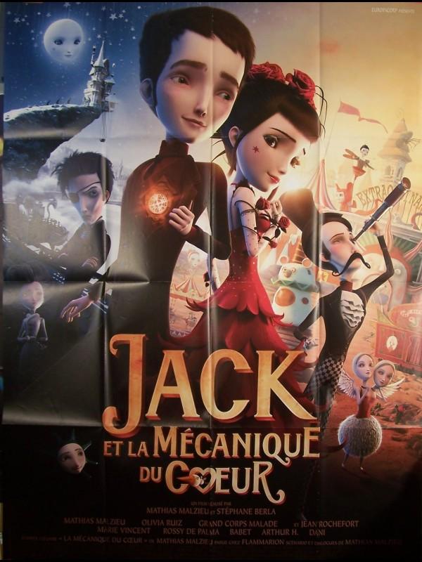 Affiche du film JACK ET LA MECANIQUE DU CŒUR