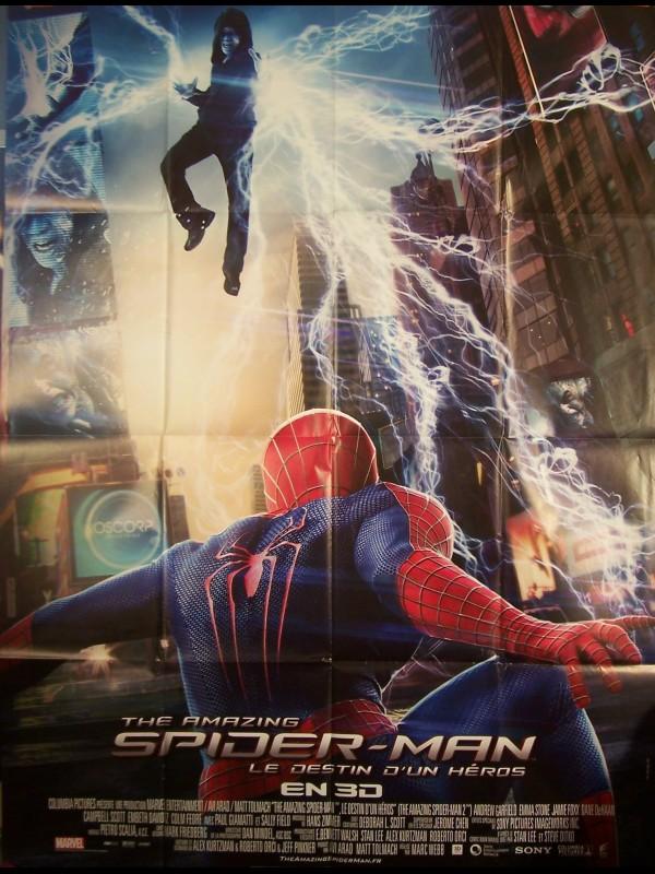 Affiche du film SPIDERMAN-le destin d'un heros