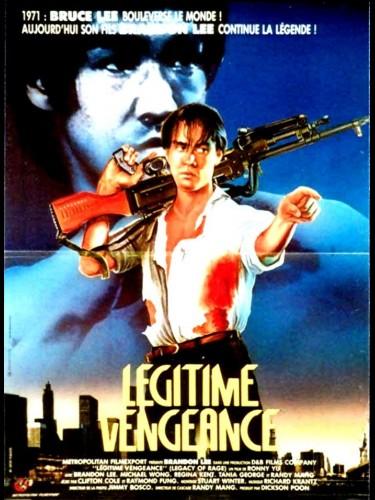 Affiche du film LEGITIME VENGEANCE - LEGACY OF RAGE