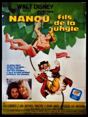 Affiche du film NANOU FILS DE LA JUNGLE