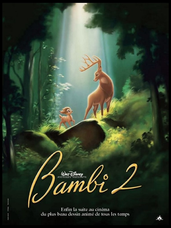 Affiche du film BAMBI 2 - BAMBI AND THE PRINCE OF THE FOREST