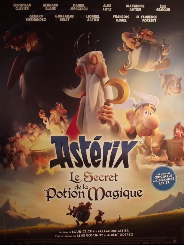 Affiche du film ASTERIX - LE SECRET DE LA POTION MAGIQUE