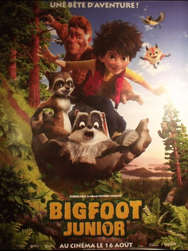 Affiche du film BIGFOOT JUNIOR- SON OF BIGFOOT