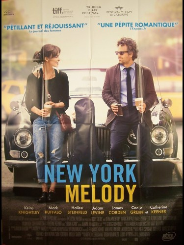 Affiche du film NEW YORK MELODY - BEGIN AGAIN