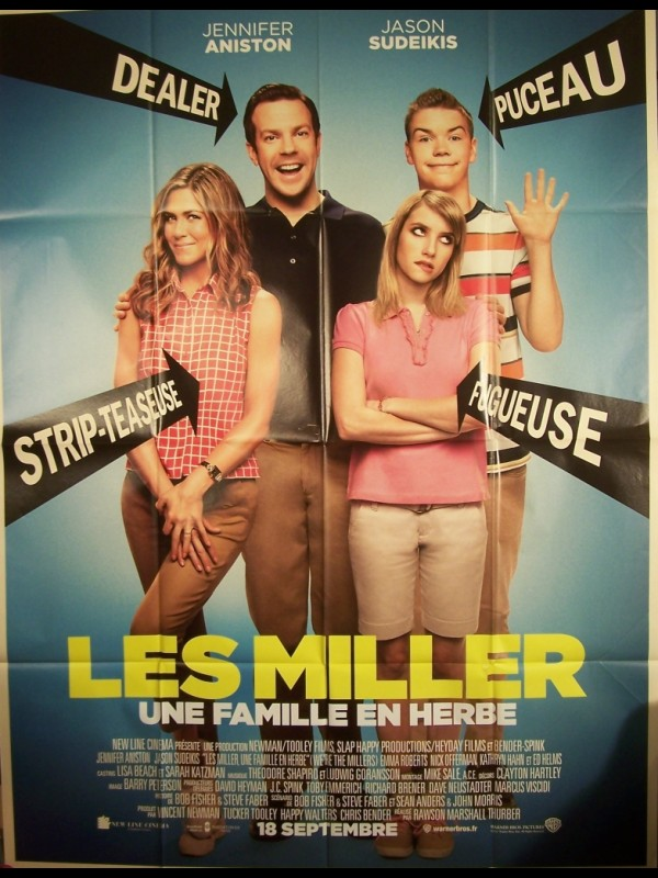 Affiche du film LES MILLERS - WE'RE THE MILLERS