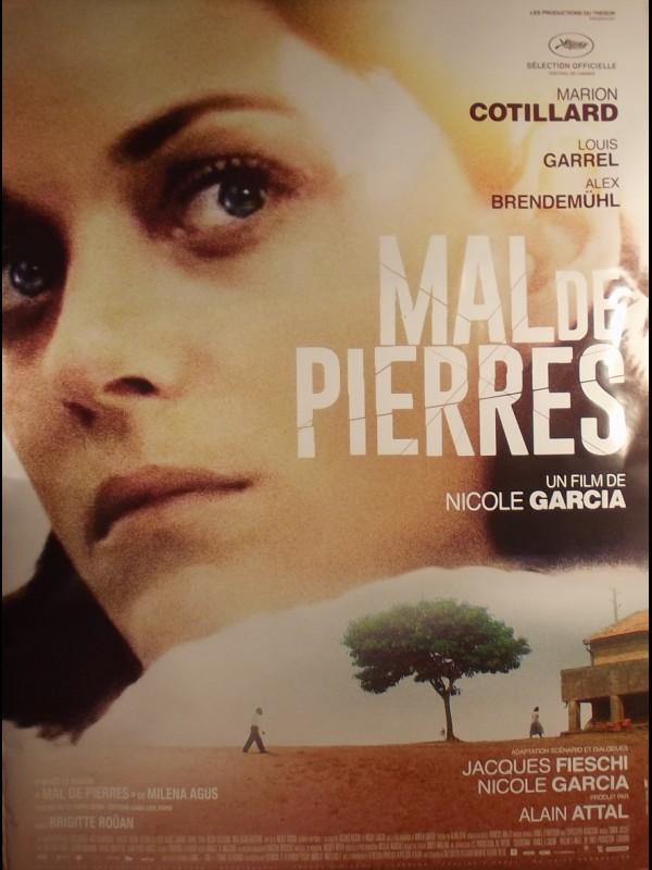 Affiche du film MAL DE PIERRE